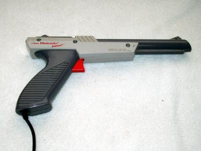 ¿Cómo funciona la pistola de Nintendo NES?