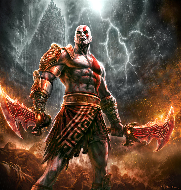 Mortal Kombat: las fatalities de Kratos