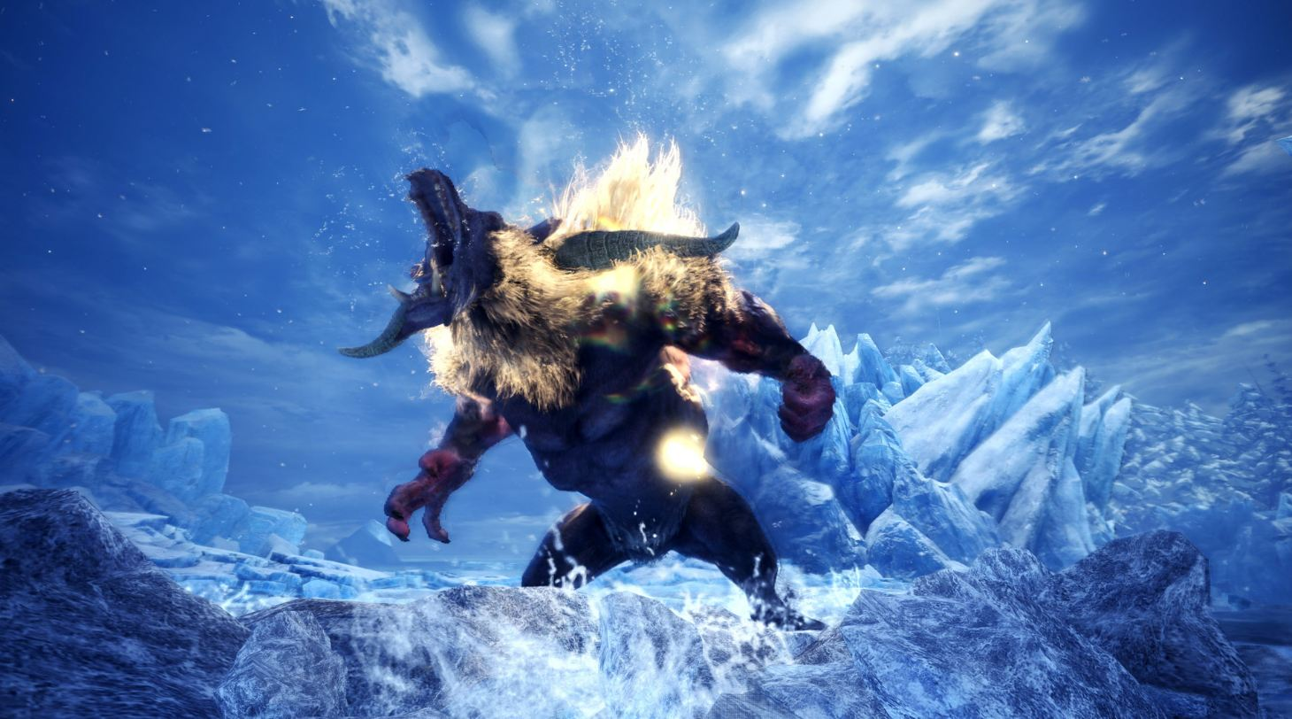 Iceborne monstruos variantes