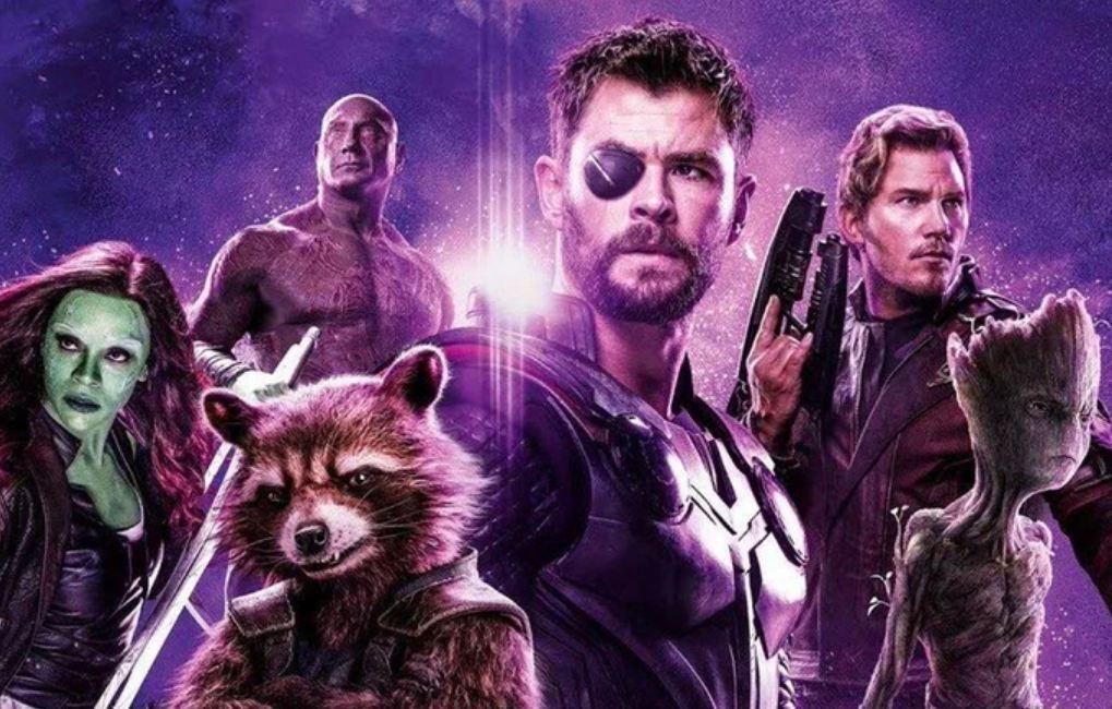 Thor Guardianes de la Galaxia