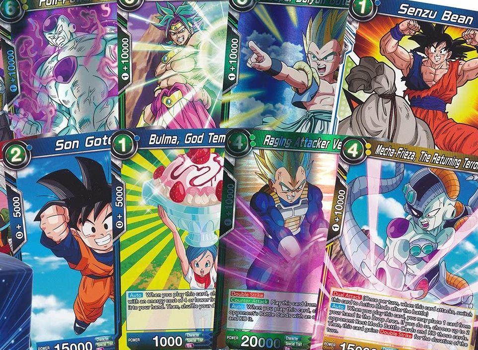 Dragon Ball Z: Kakarot cartas