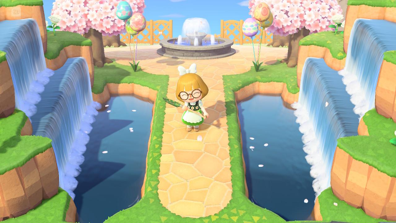 Animal Crossing New Horizons terraformar