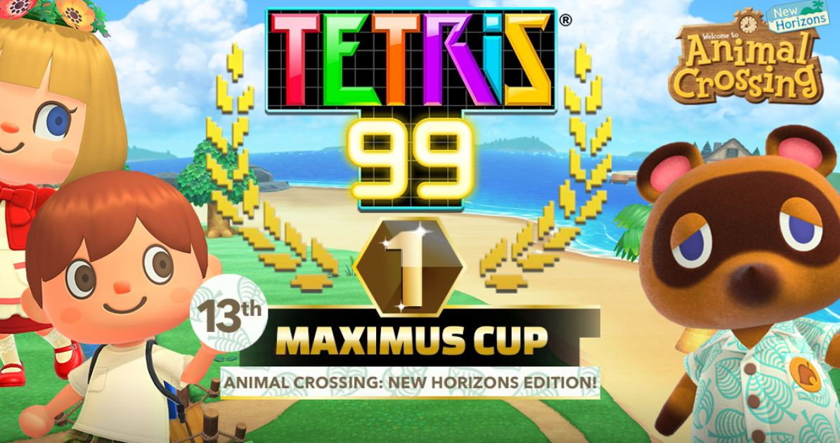 Tetris 99 animal crossing