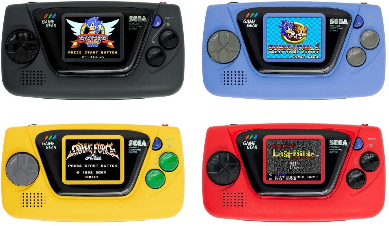 Sega presentó su nueva Game Gear Micro, su próxima consola miniatura