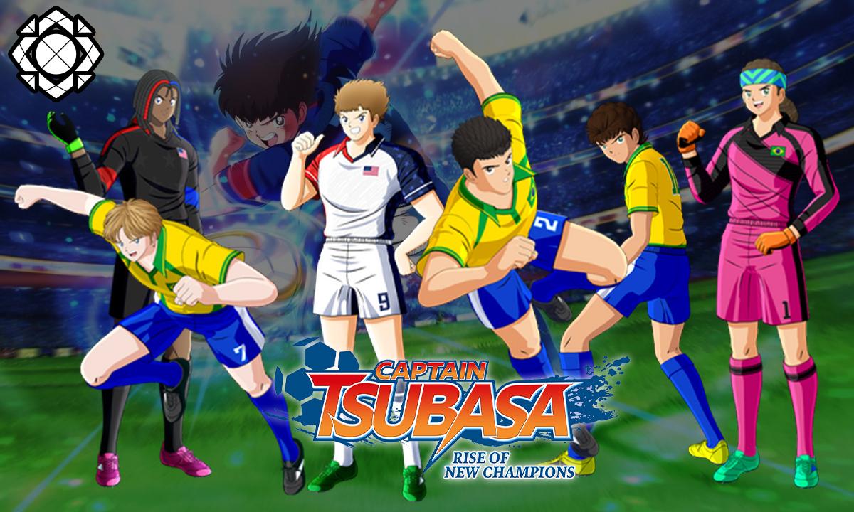 Captain Tsubasa desbloquear Brasil USA