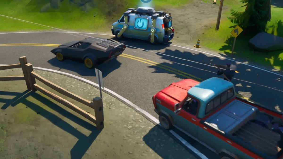 Fortnite carros