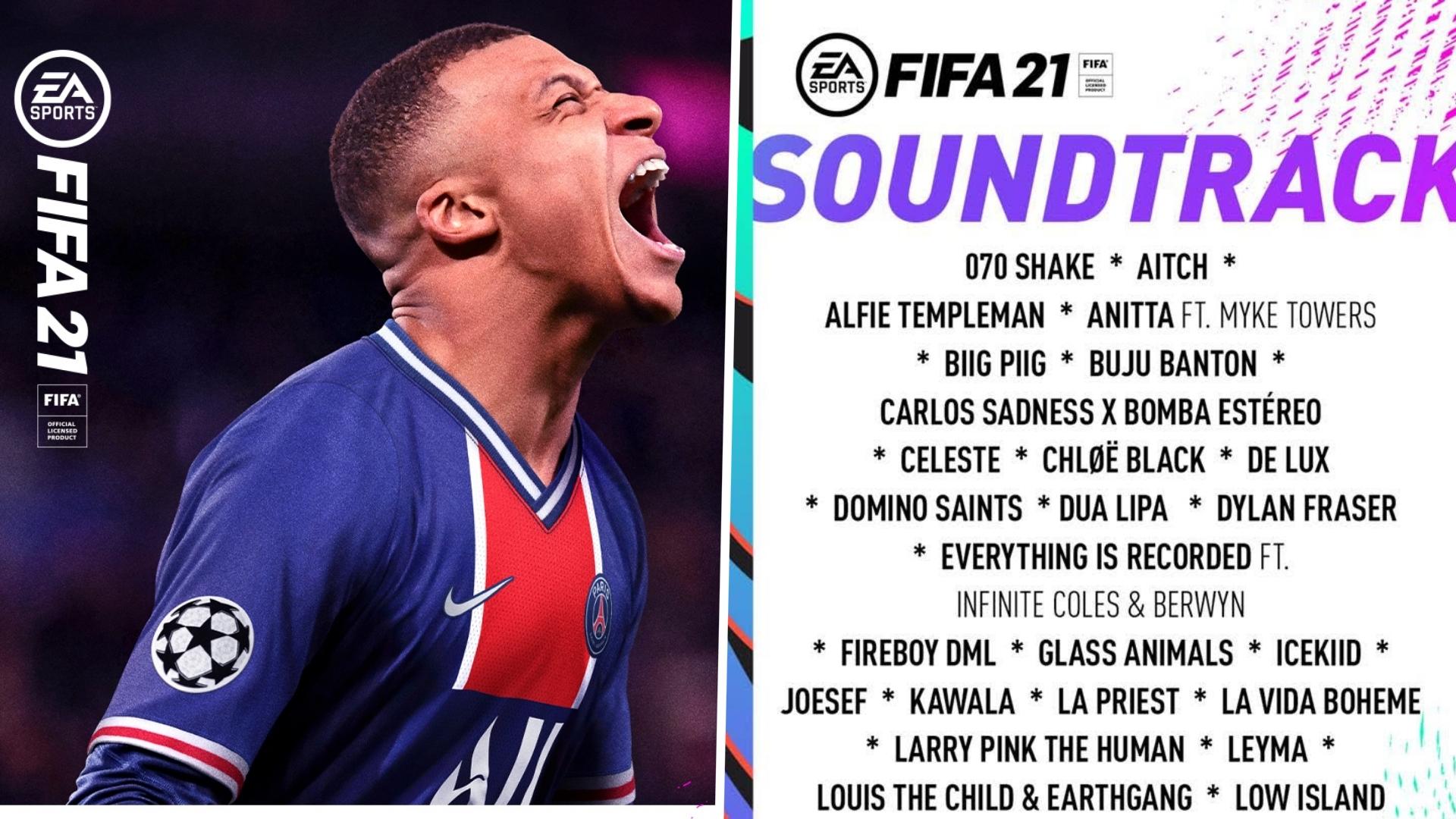 FIFA 21 banda sonora