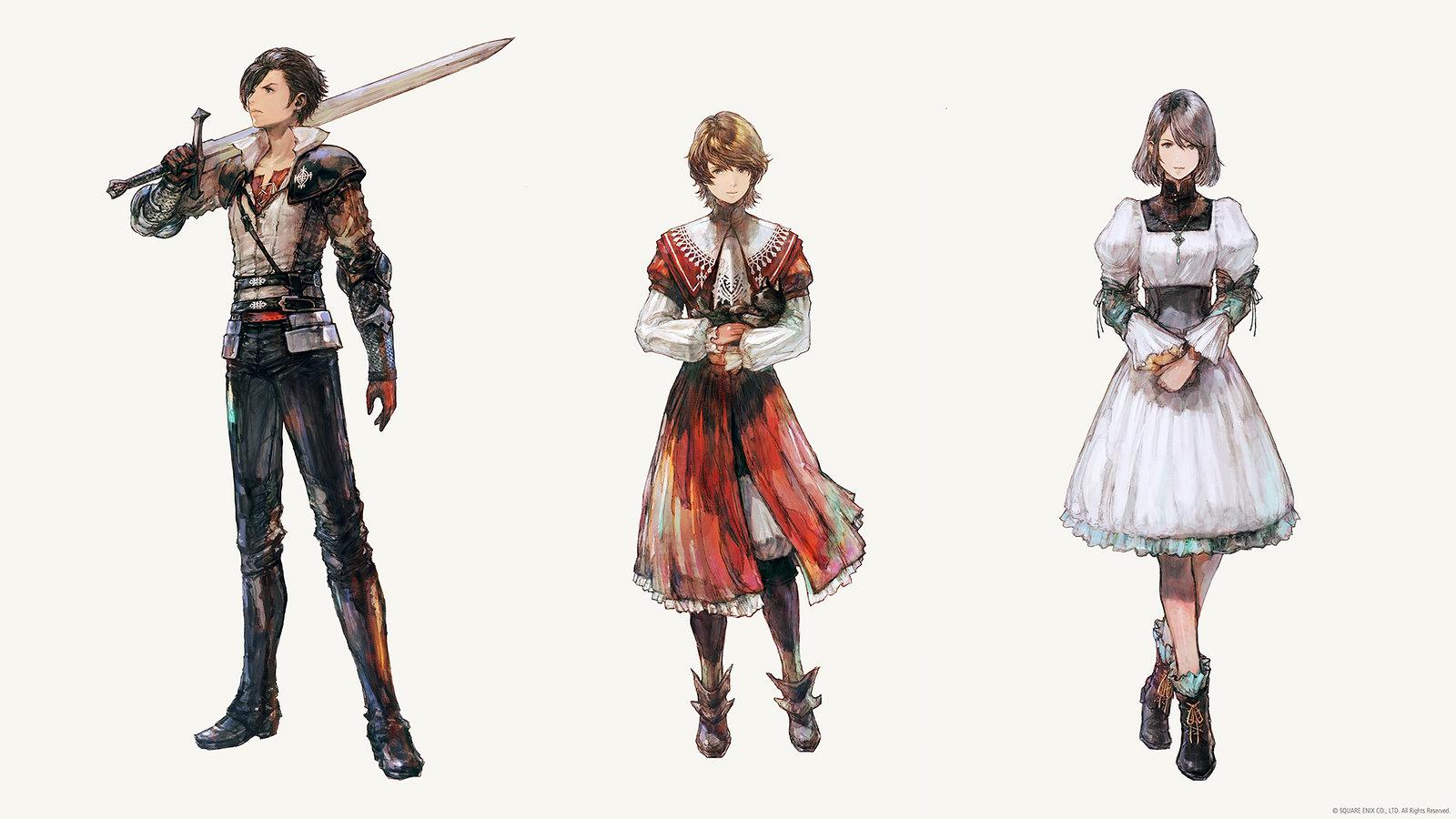 Final Fantasy XVI personajes