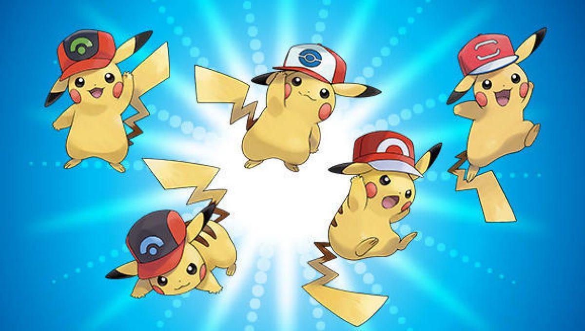 Pikachu Gorras Ash