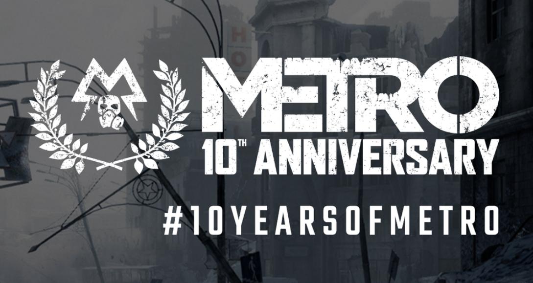 metro exodus 10 años ps5 juego nuevo