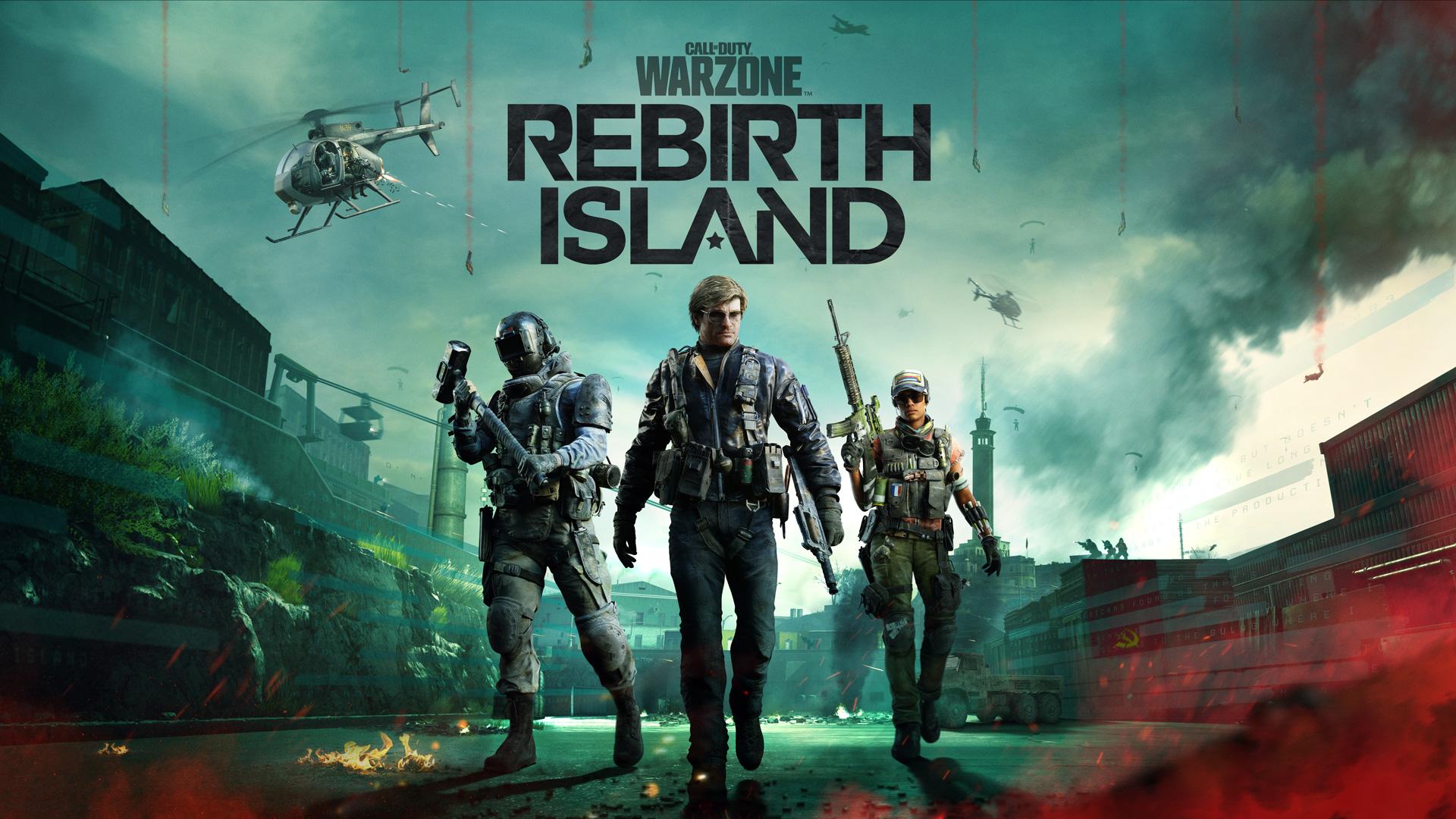 Warzon nuevo mapa rebirth