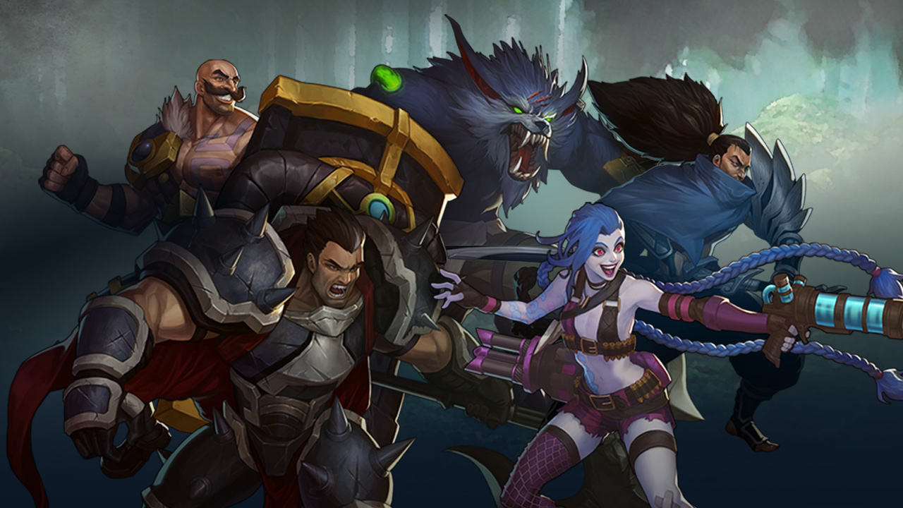 League of Legends LOL MMO