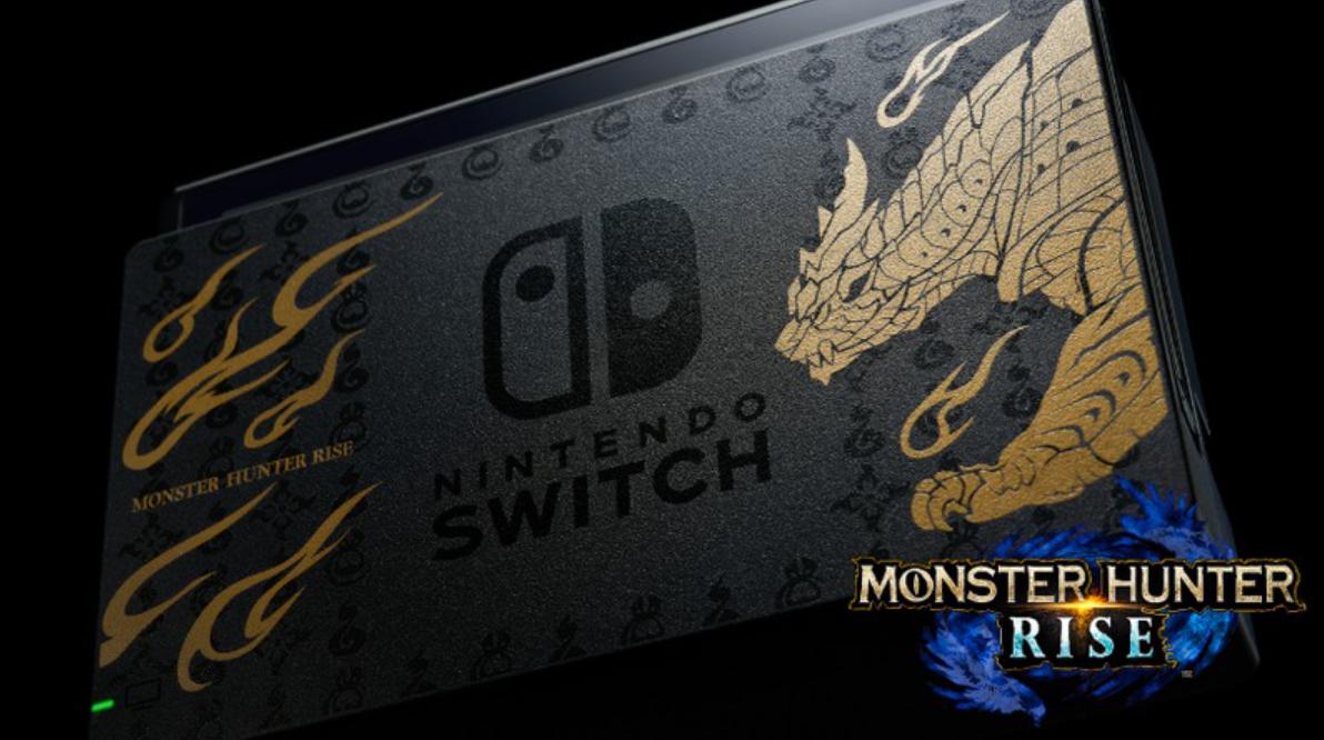 monster hunter rise nintendo switch edicion especial control pro