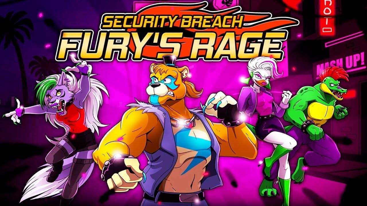 fnaf security breach juego gratis five nights at freddy's fury's rage