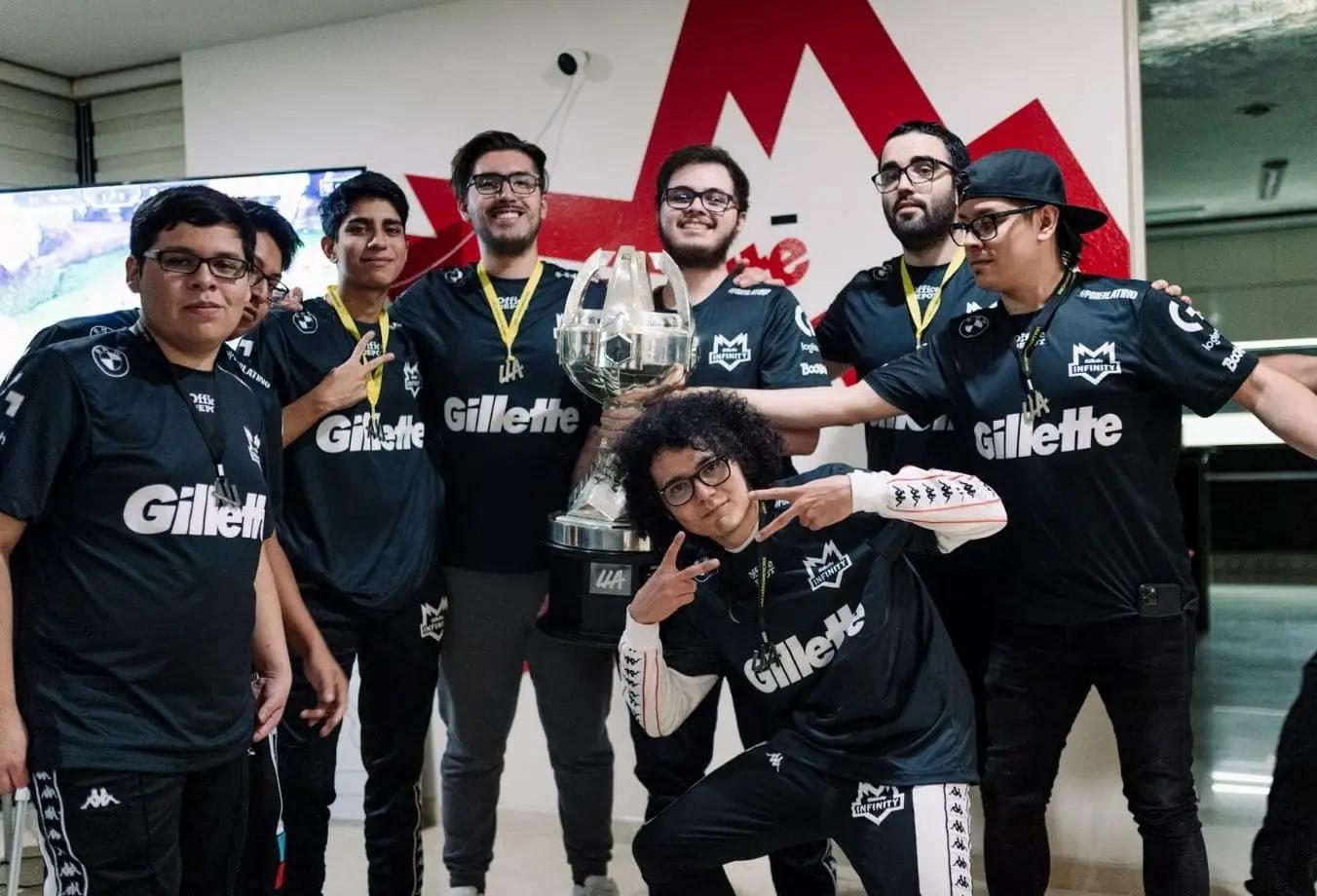 LLA Apertura 2021 ganador campeón Infinity
