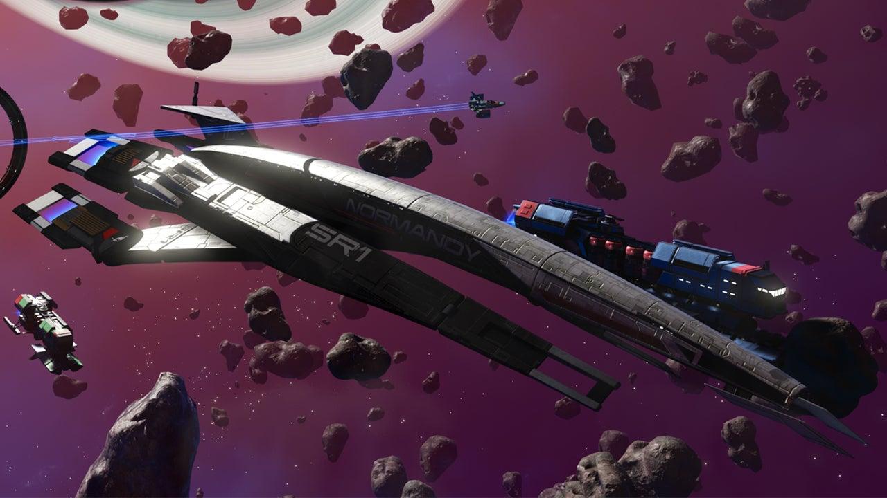 Ya podemos encontrar la nave Normandy, de Mass Effect, en No Man's Sky expedición beachhead