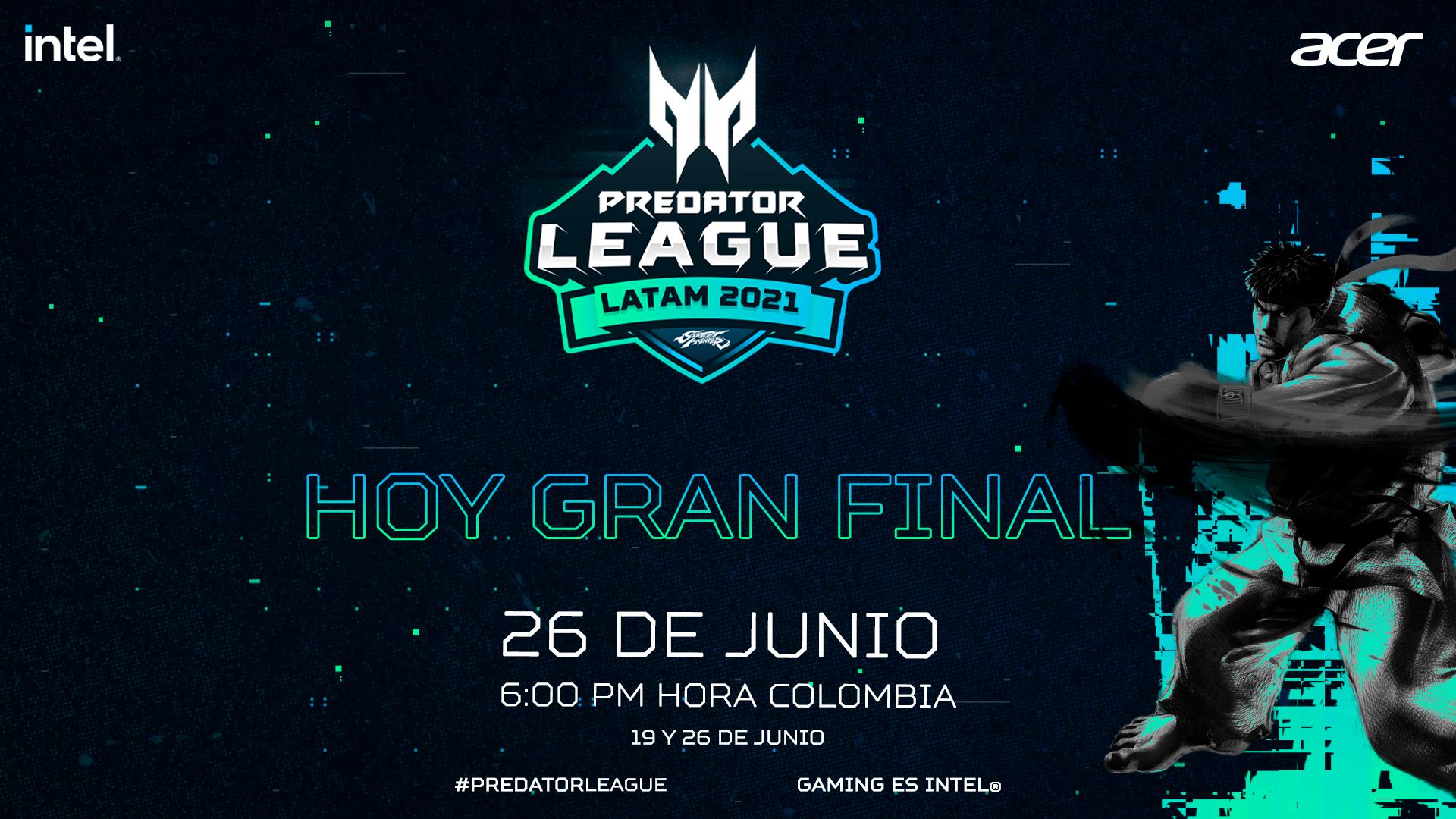 Predator League LATAM Street Fighter 2021 final