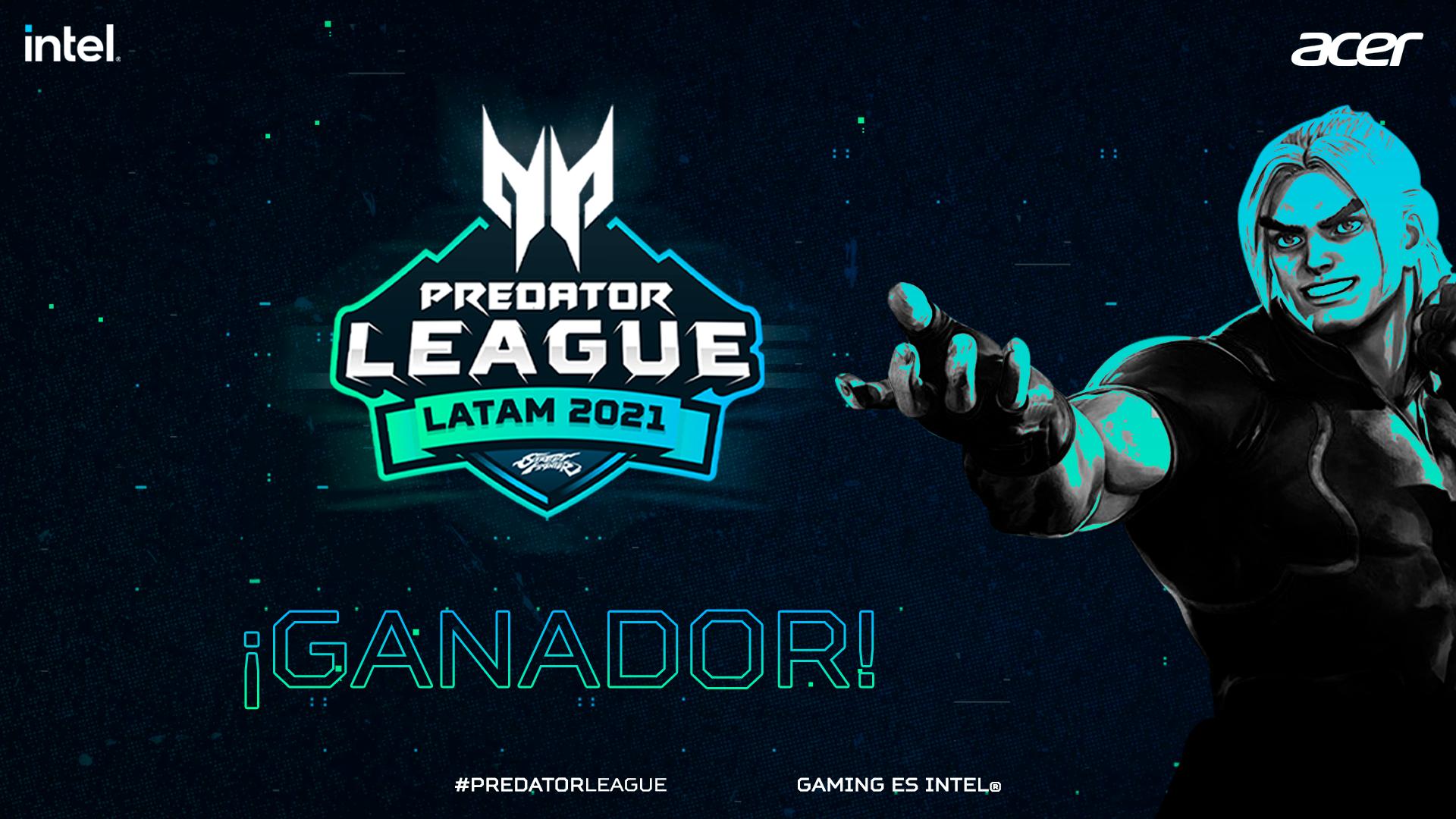Ganador de Predator League Street Fighter