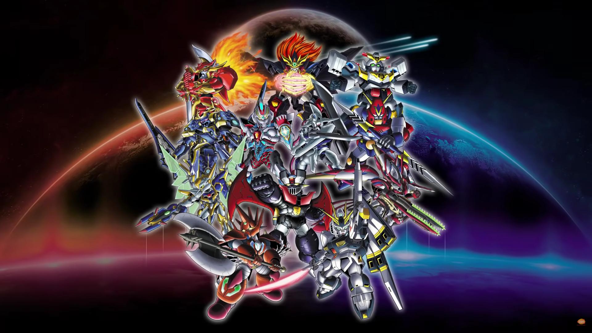 SRW Super robot Wars 30 mecha anime