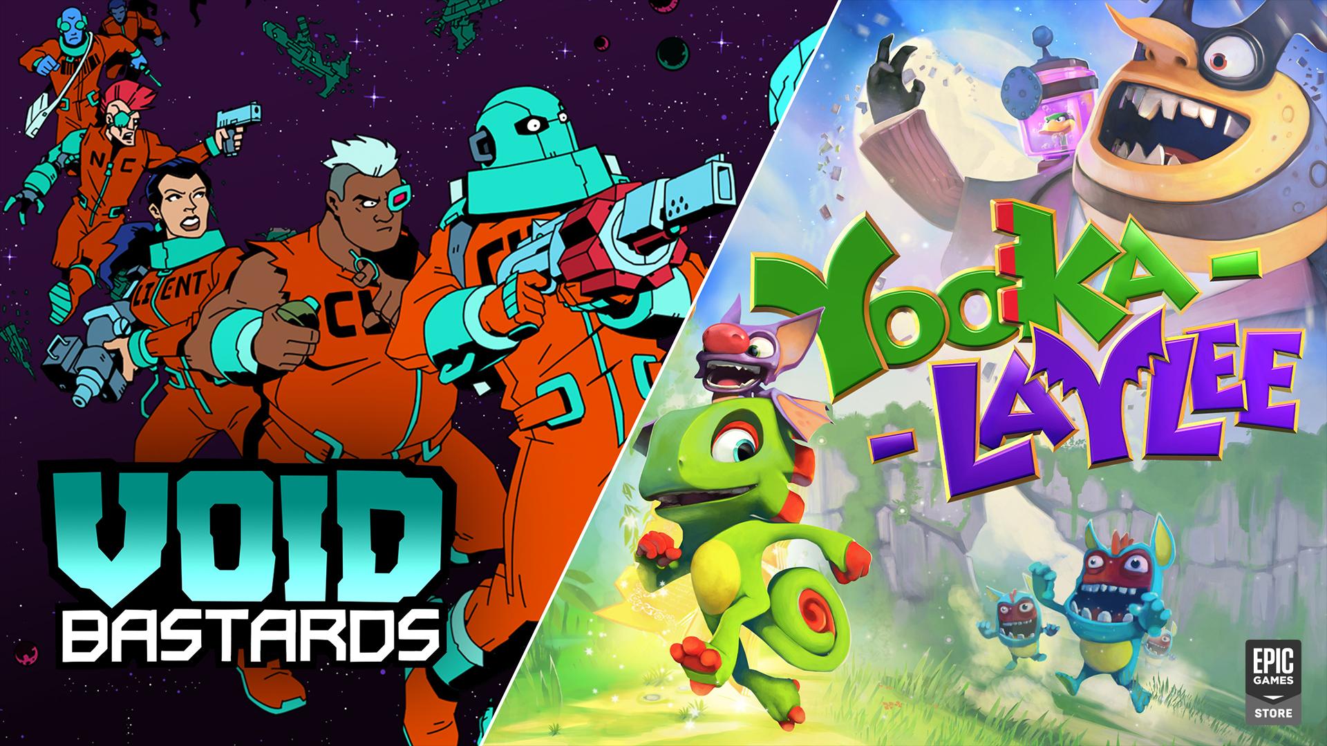 Yooka-Laylee y Void Bastards, juegos gratis de Epic Games Store hasta el 26 de agosto