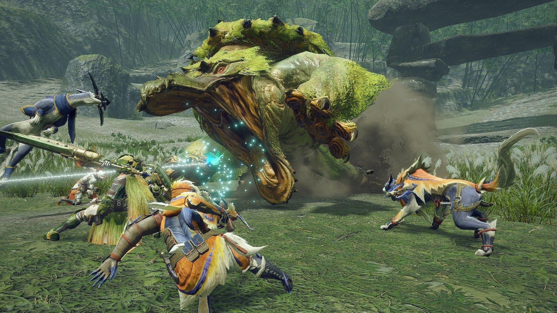 Monster Hunter Rise y Sunbreak tendrán juego cruzado y partidas cruzadas cross-save y cross-play entre Switch y PC